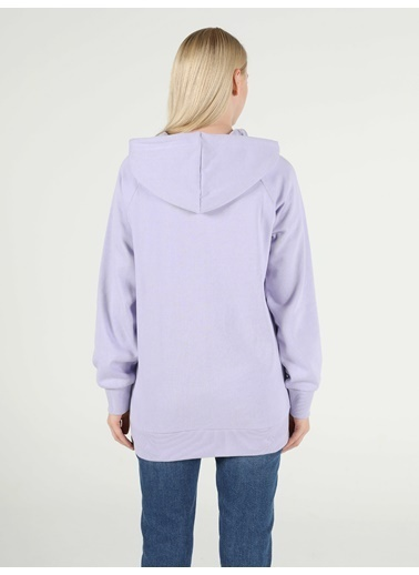Colin's Kadın Sweatshirt Lila